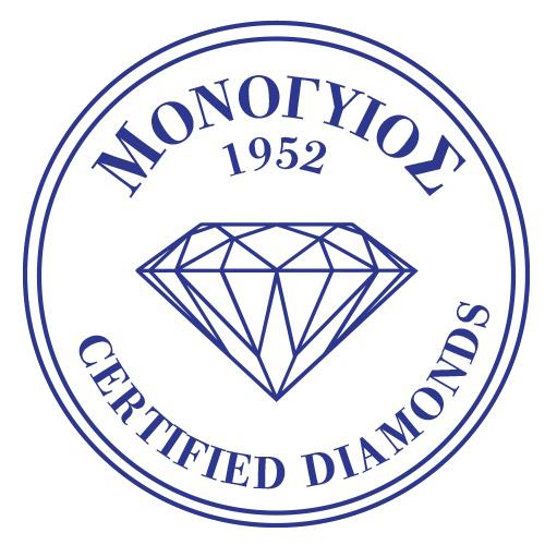 certified diamonds monogios